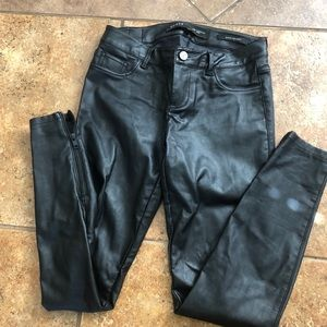 Guess vegan leather pants